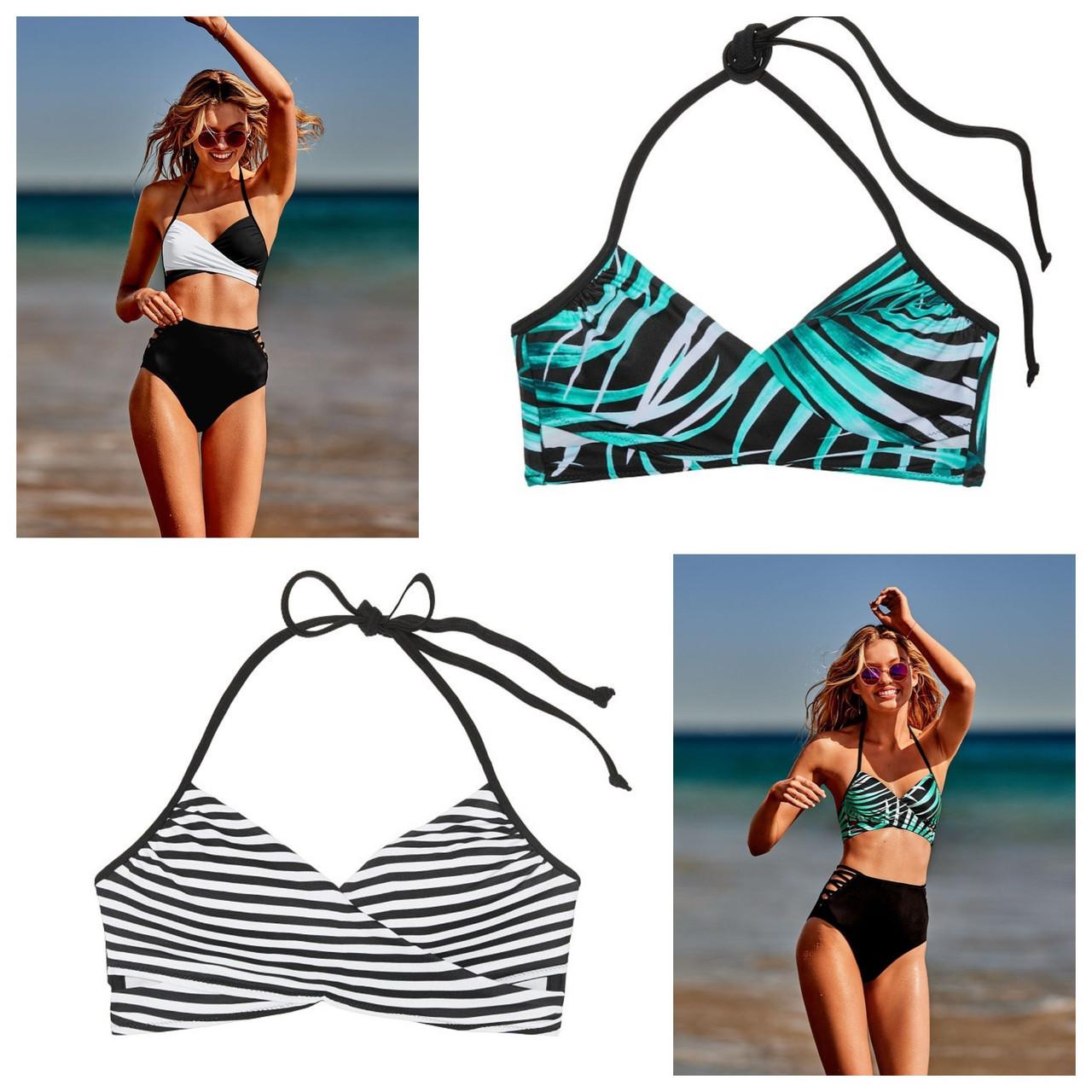 Изысканный топ лиф XS М Victorias Secret swim верх купальника Виктория  Сикрет оригинал d6de651de247f
