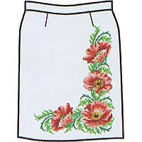 Заготовка для вышивки женской юбки бисером