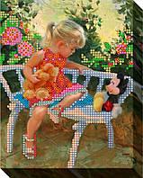 Схема для вышивки бисером  Разговор с игрушками