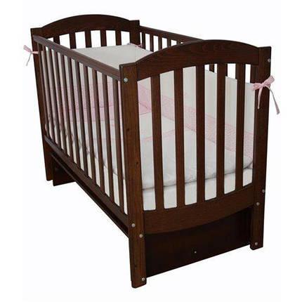Детская кроватка Верес ЛД10 Соня маятник орех , фото 2