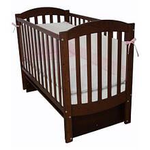 Детская кроватка Верес ЛД10 Соня маятник орех