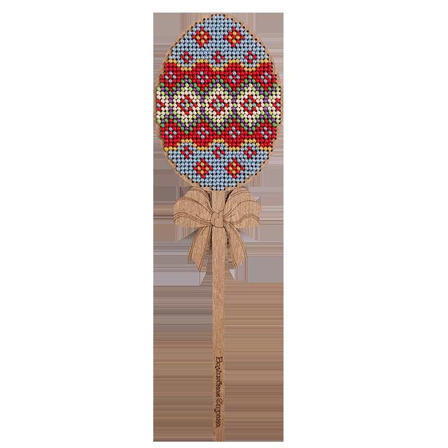 Набор для вышивки бисером по дереву Пасха 14