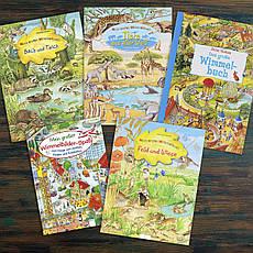 Виммельбух - любимая книжка картинка