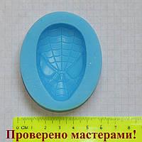 """Силиконовый молд """"Маска человека паука"""", фото 1"""