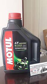 Мотомасло MOTUL 5100 4T SAE 10w-40 (2 л) 836521