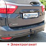 Фаркоп з'ємний на 2 болтах - Ford Focus 2 Хетчбек/ Седан (2004-2011)