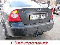 Фаркоп з'ємний на 2 болтах - Ford Focus 2 Седан (2005-2011), фото 1