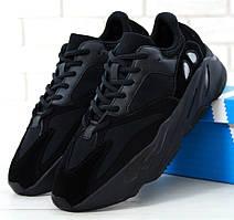 Мужские кроссовки в стиле Adidas Yeezy Boost 700 Wave Runner Black