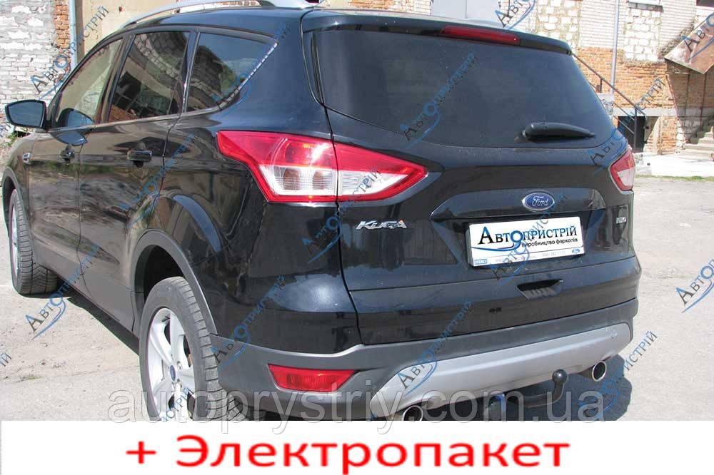 Фаркоп з'ємний на 2 болтах - Кросовер Ford Kuga (2008-2011)