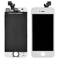 Дисплей для iPhone 5 + touchscreen, белый высокое качество