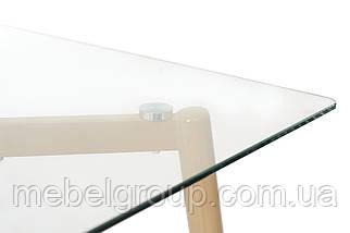 Стіл T-305 прозорий 1200х700х760, фото 2