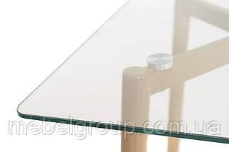 Стіл T-305 прозорий 1200х700х760, фото 3