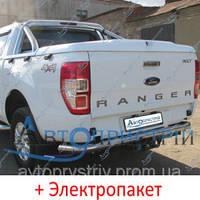 Фаркоп - Ford Ranger (XLT) Пикап (2012--) вместо бампера дуга