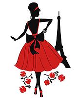 Схема вышивки бисером на атласе Монмартр