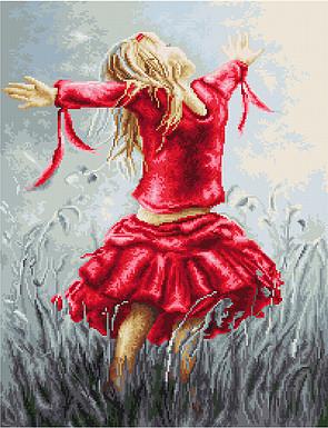 Набор для вышивки крестом Танец в поле