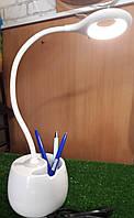 Led настольная лампа с ночником и подставкой