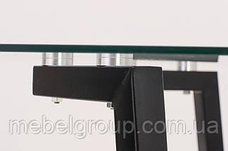Стіл T-204 прозорий 1200х800х750, фото 3
