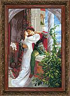 Набор для вышивки крестом Ромео и Джульетта по мотивам Фрэнка Бернарда Дикси