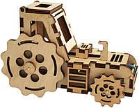 Набор деревянный конструктор  Трактор