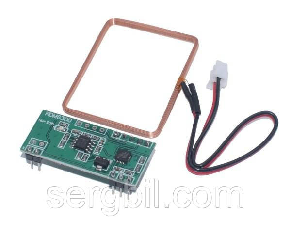RFID модуль считыватель RDM6300 125 кГц