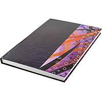 Книга канцелярская А4 200 листов линия Фолдер офсет ламинированная твердая обложка