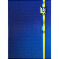 Книга канцелярская А4 96 листов клетка Buromax Украинские символы 2400-38 офсет ламинированная твердая обложка