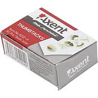 Кнопки Axent 4202 омедненные 50 шт.