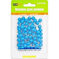 Кнопки Leo Бочка L1919-07 неоновые розовые 80 шт.