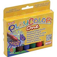 Краски темпера Instant Play Color 6x10г на планшете 7111