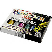 Краски темпера металлик Instant Play Color 6x10г на планшете 3212