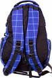 Мужской городской рюкзак Onepolar W1572-blue 27 л, фото 3