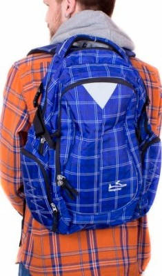 Мужской городской рюкзак 27 л. Onepolar (Ванполар) W1572-blue