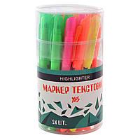 """Маркер """"Yes"""" Highlighter 5 цветов neon (24) №390445"""