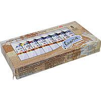 Масляные краски Ладога 1241081/200581 8 цветов 18мл туба