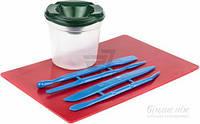 Набор для труда 4 стека, досточка, стакан-непроливайка T51520008