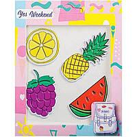 "Набор наклеек ""Patch stiker"" ананас, лимон (40) №554309"