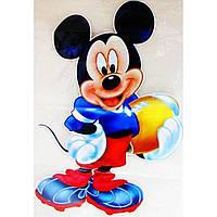 """Наклейка """"Hannah, Mickey"""" ГП 87х56см"""