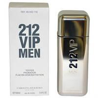 Тестер. Без крышкиМужская туалетная вода Carolina Herrera 212 VIP Men (Каролина Эерерра 212 Вип Мэн) 100 мл.