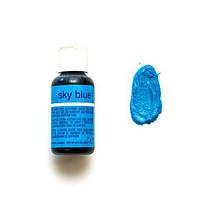 Гелевый краситель Chefmaster Liqua-Gel - sky blue