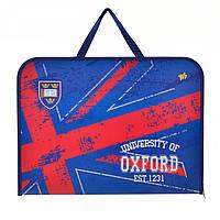 """Папка-портфель A3 """"Oxford"""" на молнии, с ручками (1) (12) (48) №491317"""