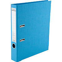 """Папка-регистратор А4 """"Axent"""" 5 см Prestige+ двусторонний PP (свет-голубая) собранная (1) (25) №1721-29С-А"""