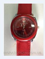 Наручные повседневные часы стканевым стильным ремешком Gergio Armani (Арт. 7093)