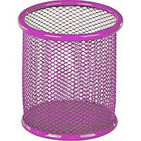 """Подставка для ручек """"Kite"""" круглая, металлическая, розовая (12) (96) №K17-2110-10"""