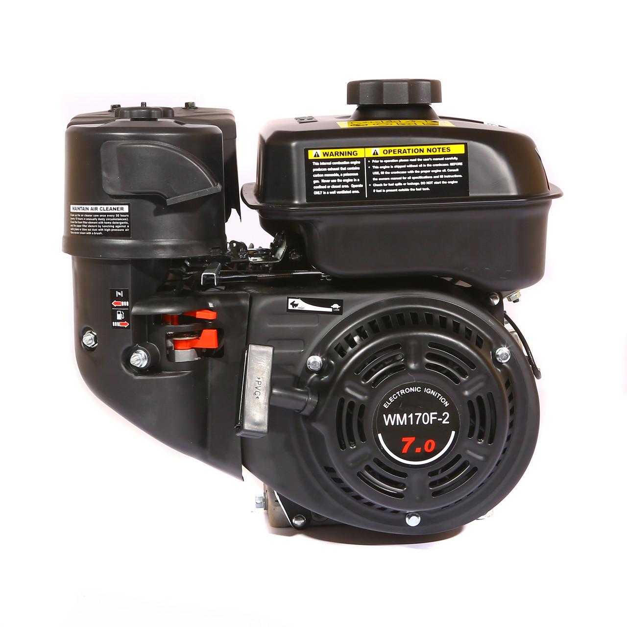 Двигатель бензиновый Weima WM170F-1050 (R) New (7 л.с.,для WM1050, редуктор, шпонка)
