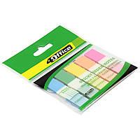 """Разделитель страниц """" 4 Office """" PP 5 цветный по 20 листов 12 х45 мм №4-427/03080510"""