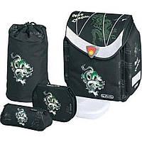 Ранец каркасный Flexi Plus с наполнением (сумка для обуви, пенал, косметичка, ланч-бокс) 11160991