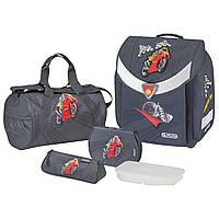 Ранец каркасный Flexi Plus с наполнением (сумка для обуви, пенал, косметичка, ланч-бокс) 11350881