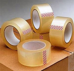 Скотч пакувальний 66, 100, 200, 300, 500 м (прозорий, коричневий)