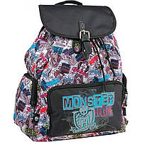 "Рюкзак Kite ""Monster High"" MH15-965S 1 отделение 3 кармана"