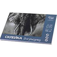Склейка для рисунка А5 (50 листов / 100) (10) №169214821 / 1687 / Роса /